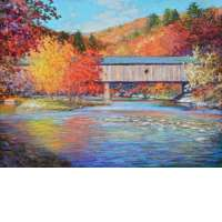 Covered Bridge, West River